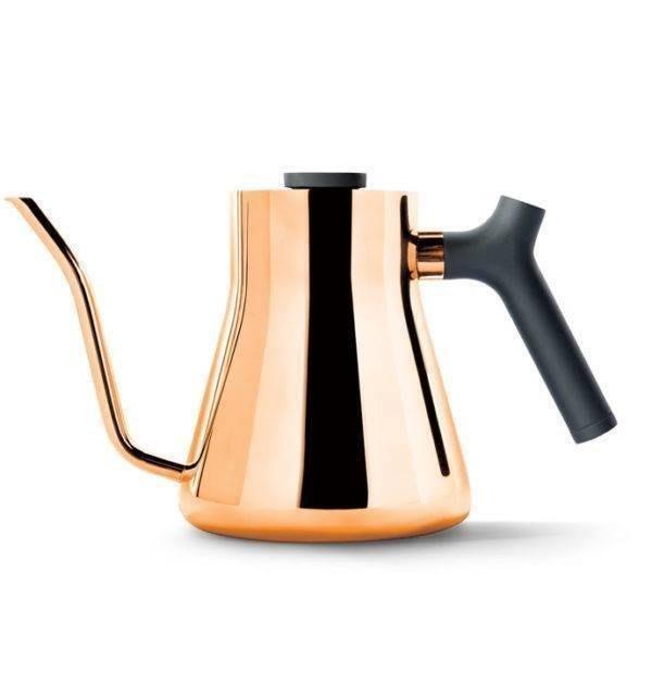 手沖冠軍指名使用,FELLOW Stagg Pour-Over Kettle v1.2全新改款不鏽鋼測溫手沖壺,玫瑰金