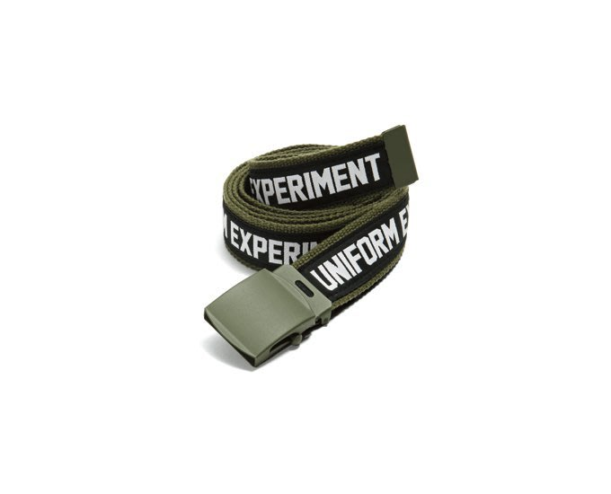 「NSS』uniform experiment 16 ue TAPE LINE BELT 皮帶 腰帶