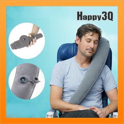 長途飛行旅用抱枕U型枕L型枕充氣摺疊好...