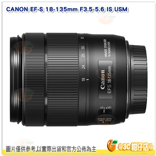 @3C 柑仔店@ 拆鏡 Canon EF-S 18-135mm F3.5-5.6 IS USM 平行輸入一年保固