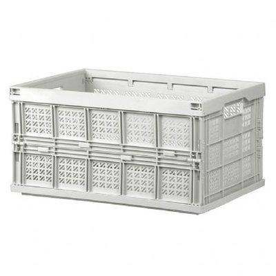 附發票(東北五金) 樹德 FB-4531折疊籃 收納箱 整理盒 置物箱 搬運箱 耐重箱 整理箱*來電260元