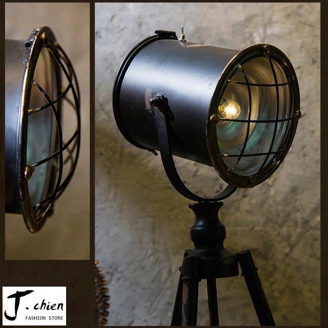 J.chien ~[全館免運]復古鐵器燈具 工業風 鐵藝燈擺設 餐廳擺設 家具擺設 裝飾道具  燈具咖啡廳擺設(大)