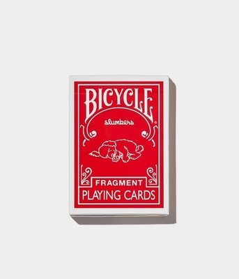 ☆AirRoom☆【現貨】BICYCLE FRAGMENT PLAYING CARD HE CONVENI 撲克牌