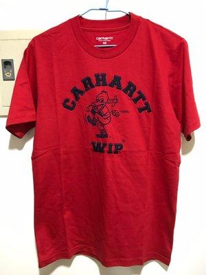 [全新現貨 可刷卡] Carhartt WIP Duck Batter T-shirt XS 紅色 短踢 T恤