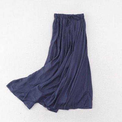 現貨《大碼特惠均碼》寬鬆百搭時尚休閒收腰半身裙
