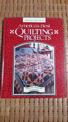 不二書店 america's best quilting projects 拼布專業書籍 英文原文 精裝