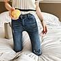 限時早鳥價到4/5調回原價790牛仔褲丹寧  彈力修身高腰顯瘦破洞緊身小腳褲鉛筆褲 艾爾莎【TAE8245】