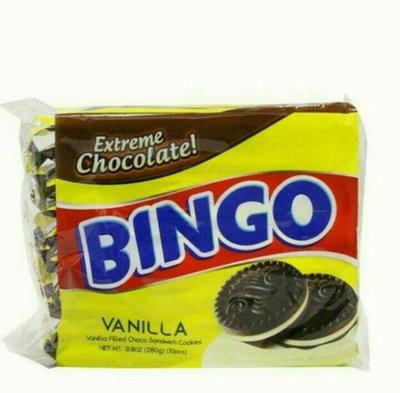 菲律賓 Bingo vanilla 香草 夾心餅乾/1包/280g