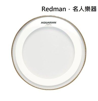 """【名人樂器】AQUARIAN MRS2-14 鼓皮 Super-2 w/ Studio-X Ring 14"""" 油面"""