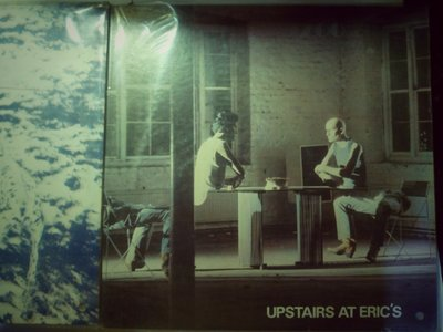 Yazoo 1982 Upstairs At Erics 台版上揚黑膠唱片。封面右下打洞 有歌詞