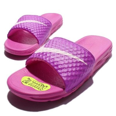 Nike Benassi Solarsoft Slide 女用運動軟底拖鞋 權志龍 男女款 桃紅 705475 600