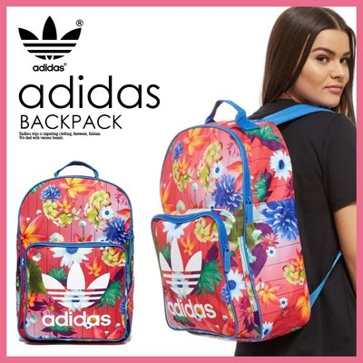 愛迪達 adidas 海外限定 印花 後背包 CLASSIC FLOWER BACKPACK LUCI日本代購空運