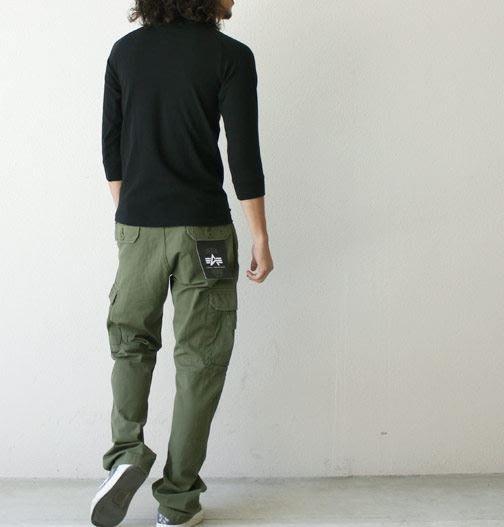 ☆AirRoom☆【現貨】2018SS ALPHA 日版 JUNGLE CARGO 口袋 工作褲 余文樂 TB1003
