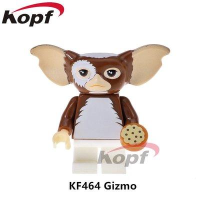 【積木班長】KF464 小精靈 GIZMO GREMLINS 驚悚 電影 人偶 科鋒 袋裝/相容 樂高 LEGO 積木