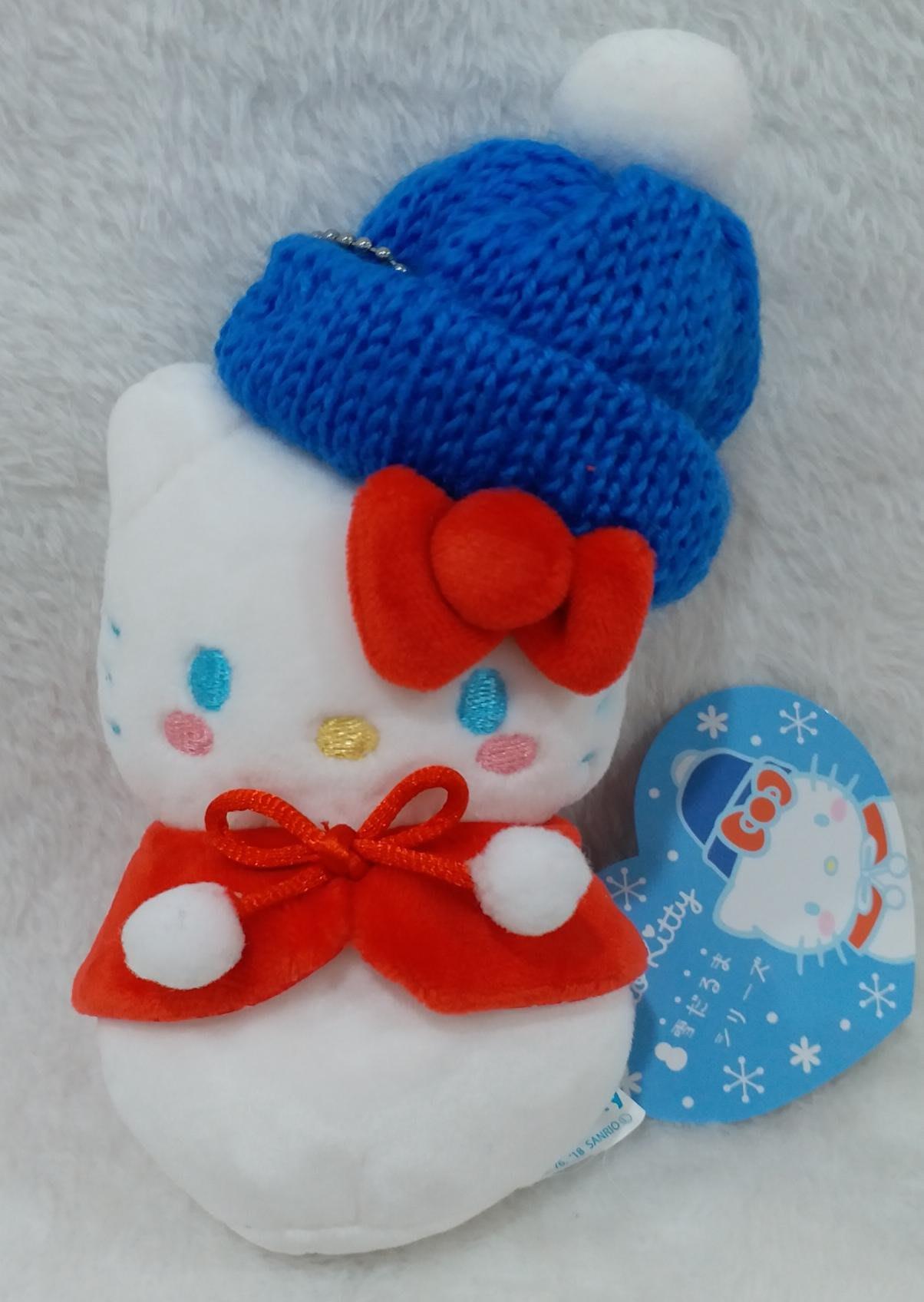 三麗鷗HELLO KITTY雪人娃娃玩偶