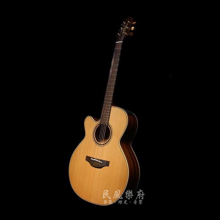 《民風樂府》Takamine P3NC-LH 左手琴 日本廠手工製作 專利NEX琴身 雪松單板 電木缺角民謠吉他
