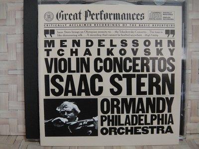 J5766 斯特恩 ISAAC STERN   孟德爾頌 柴可夫斯基小提琴協奏曲 / ORMANDY指揮 / 保存良好