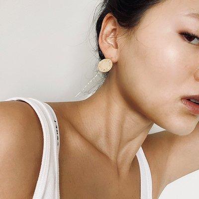 珠寶首飾正品~M星買手店 LHWindsor Fine Jewelry耳環女925銀鍍18K黃金耳飾新品