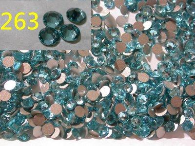 10顆 SS5 263 淺綠松石 Light Turquoise 施華洛世奇 水鑽 色鑽 SWAROVSKI庫房