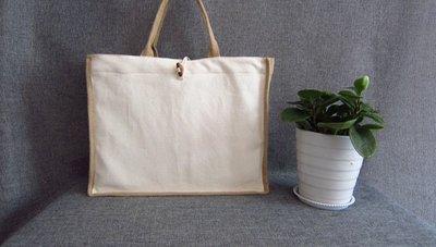 伊媽小舖-麻布手提袋、手拎包