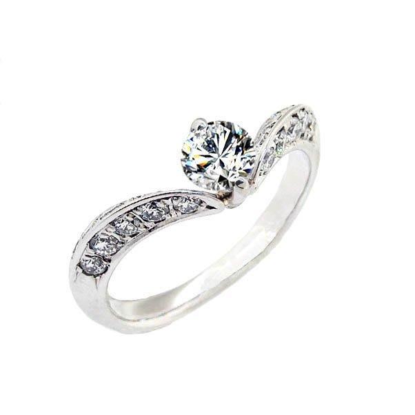 【JHT 金宏總珠寶/GIA鑽石專賣】0.433ct天然鑽石戒指/G-SI2材質:PT900(JB42-A01)