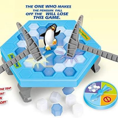 Penguin Trap Board Game敲冰遊戲 #企鵝 #桌上遊戲 #table game #拯救企鵝  #親子 #益智