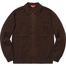 【紐約范特西】預購 Supreme FW18  Corduroy Detailed Zip Sweater 夾克 三色