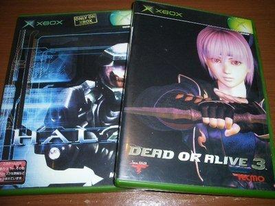 XBOX360 / XBOX 對應 生死格鬥3 DOA3 & 最後一戰 Halo ~ 純日版 ~