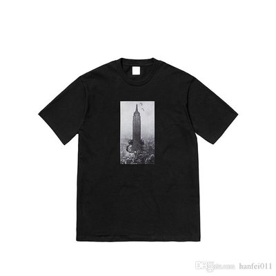 Supreme 18FW Mike Kelley The Empire State Building 短袖 TEE