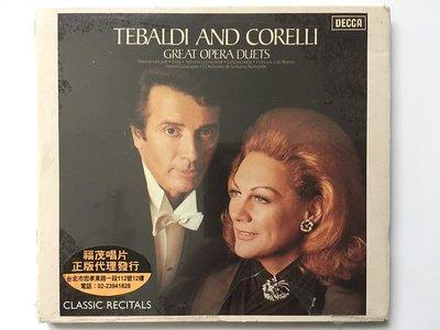 新 Tebaldi & Corelli:Operatic Duetts