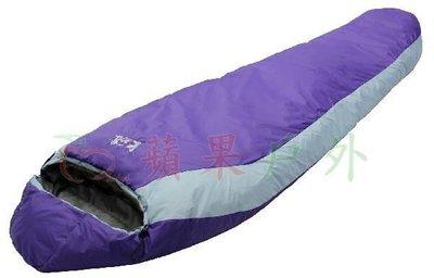 【【蘋果戶外】】AS045 Micro 1300 保暖型四孔纖維睡袋 1300g Lirosa 吉諾佳 背包客 旅行