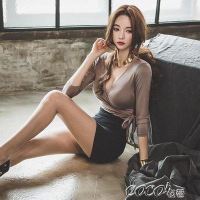 夜店洋裝 性感夜店女裝早秋冬季時尚套裝顯瘦新款小香風長袖打底連身裙