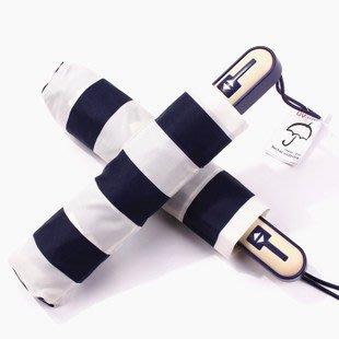 日本原單海軍紋遮陽傘太陽傘自動傘晴雨傘摺疊傘