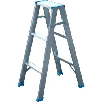 【TRENY直營】3階鋁製輕型梯 3A 扶手梯 工作梯 手扶梯 鋁梯 A字梯 梯子 輕型梯 1508