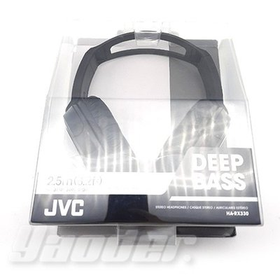【福利品】全新品 瑕疵 JVC HA-RX330 重低音 耳罩式耳機 可調式 立體聲耳機 送收納袋 台北市