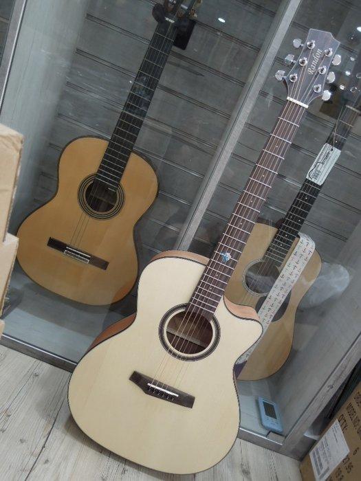 台南嘉軒樂器 Randon RG-14C 單板木吉他 雲杉面單板 桃花心木側背板 精緻作工 ! 讓您驚豔的好聲音