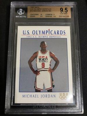🇺🇸🏀🐐1992 Impel U.S. Olympic Hopefuls #12 Michael Jordan