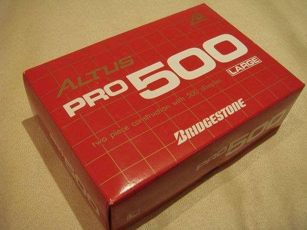 全新從未用過的日本製 Altus Pro 500 Large 高爾夫球,6 顆。只有一組,低價起標無底價!免運費!