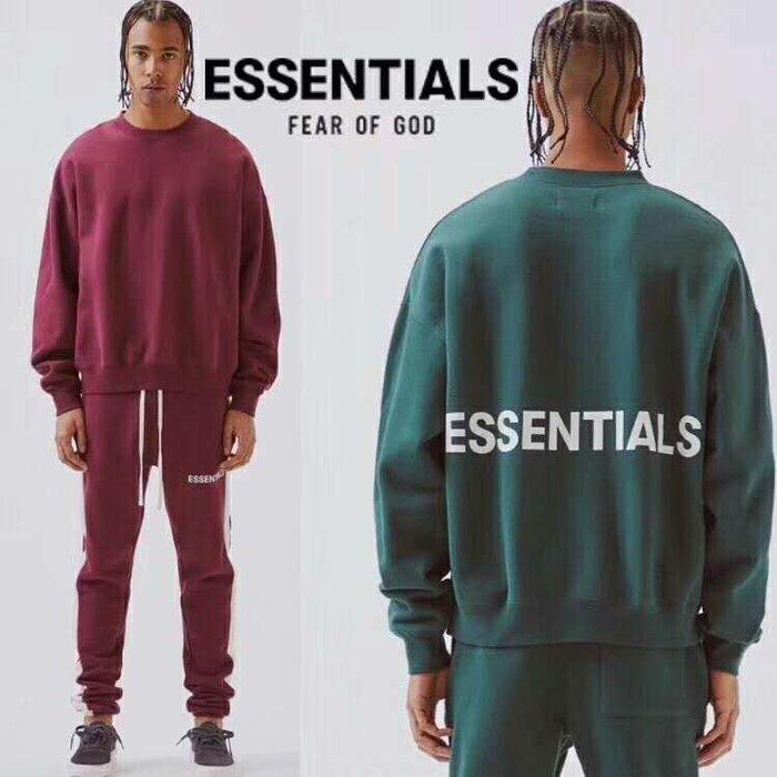 全新商品 Fear Of God FOG Essentials Sweatshirt Crewneck 長袖 TEE
