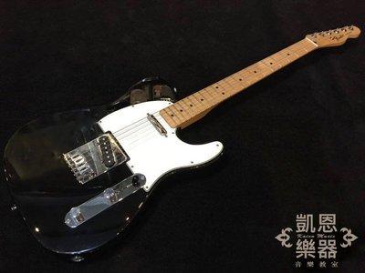 免運 墨廠 Fender Standard Telecaster 60週年黑 電吉他 紀念款 楓木指版