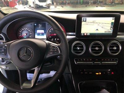 BENZ GLC coupe 加裝PAPAGO觸控導航.HD 360度環景系統.