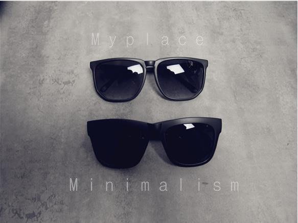 Myplace.com 歐美簡約型 / 抗UV【墨鏡 / 太陽眼鏡】