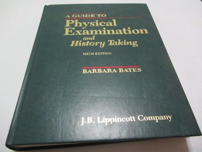 A Guide to Physical Examination and History Taking/a Guide