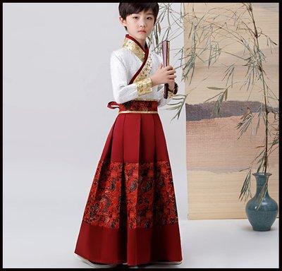 Miss Goddess~~珂卡蝶原創兒童小俠客漢服錦衣衛飛魚服男童大明劍客服古裝演出服