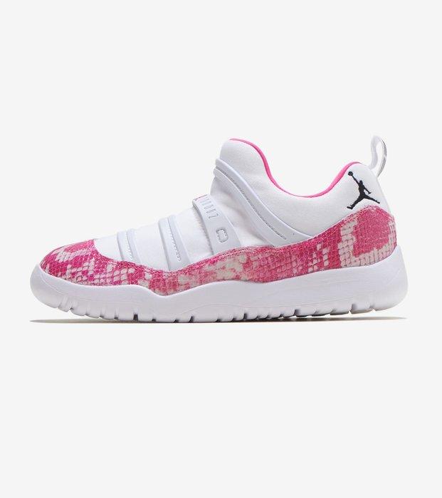 沃皮斯§Air Jordan 11 Low Pink Snakeskin PS 粉蛇紋 中童 BQ7103-106