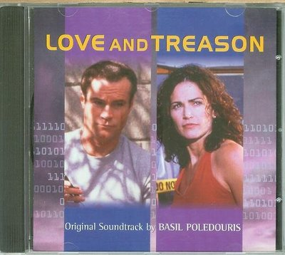 "[原聲帶]-""叛國計劃(Love and Treason)""- Basil Poledouris(32),美版"