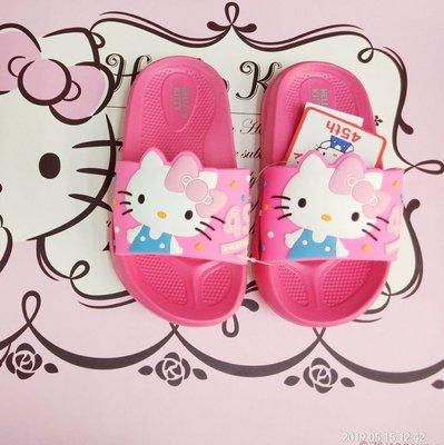 台灣製 Hello Kitty 凱蒂貓輕量防水女童拖鞋