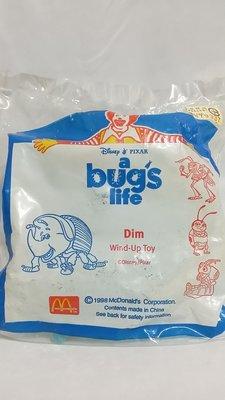 收藏品-1998年麥當勞公仔a bugs life/Dim(全新未使用)