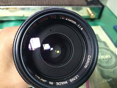 Canon ZOOM LENS FD 70-210mm 1:4 單眼 鏡頭 (Leica、Nikone 35 可參考) 台中市