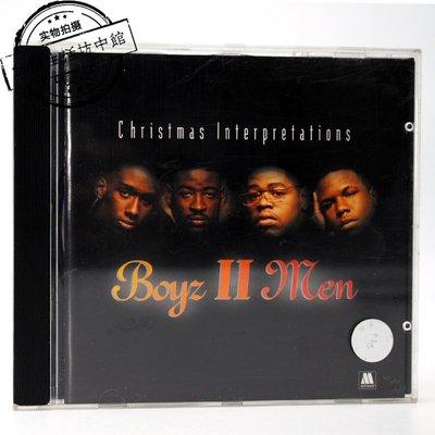 正版拆封CD Boyz II  錄音帶 磁帶 CD歌曲 men Christmas Interpretations 圣誕節 專輯